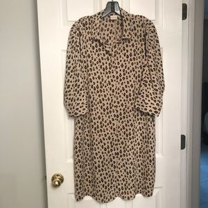 Like NEW!! Chico's leopard print dress